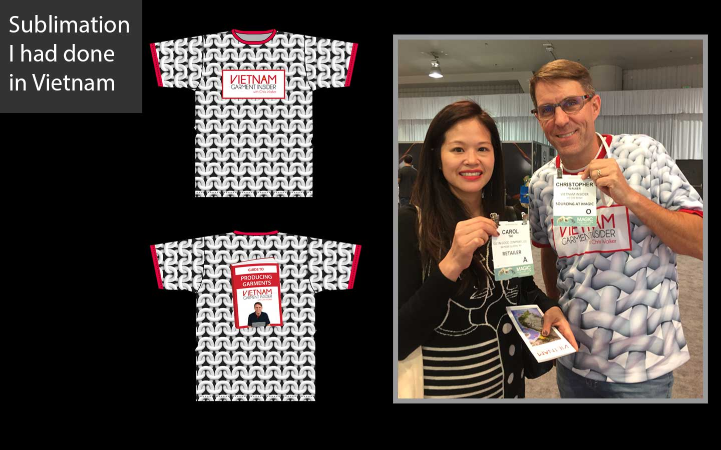 Chris knows sublimation printing in Vietnam